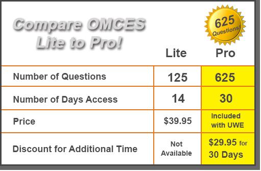 omces comparison